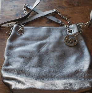 Platinum Michael Kors bag